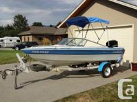 Great family boat & very easy to tow with a 4 cyndrical