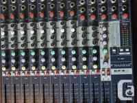 Soundcraft EFX8 8-Channel Mixer with 24-bit Lexicon