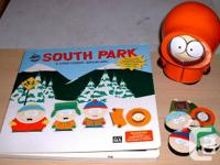 South Park Toy Lot  Sticker Book : Removable plastic