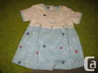 Brand New with TAGS - Girls Cute Bunny Smock Top  Brief