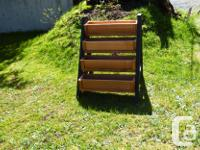 This 4 box planter provides a singular place for your