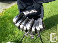 Spalding Tour Plus Golf Set (with graphite shafts),