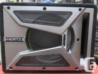 "HERTZ Speaker box 15 1/4"" wide x 11 1/2"" high x 11 3/4"""