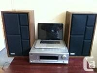 FOR SALE: JVC Amplifier and Sears Speakers.  $120 obo.