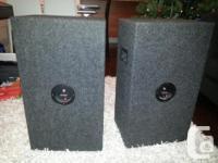 2 Speakers / 2 Haut Parleurs Fait sur mesure / Made by