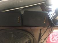 """Indoor/Outdoor Speaker 3.5"""" Black - Pair Additional"""