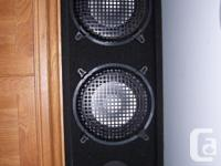 HAVE 4 SPEAKERS 2 USED FOR $250.00 AND 2 FOR $300.00