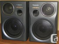 Panasonic Speakers S-XBS bi-wiring system 10x7x7.5.