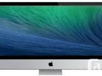 We have an iMac Intel Core 3.06GHz 8GB RAM 1TB HD. If