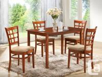 SPECIAL DEALS ON DINING SET 5 PC DINING SET WITH 4