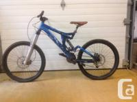 Selling my DH bike: Specialized Big Hit II.  Frame size