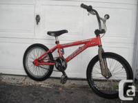 sellin a beautiful condition bmx,,comes with a steel