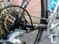 This bicycle is ready for speed. Are you? - 20 speed,