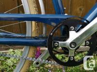 Versatile bike for commuting, cruising. Comfortable
