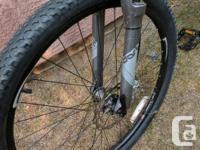 Specialized hardrock mountain bike with rock shock