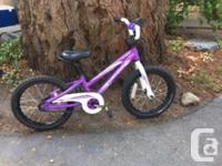 Perfect for a 3 to 5 year old. Have trading wheel