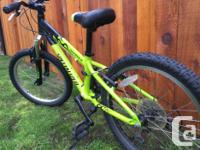 This Mountain bike has been our son's main ride for the