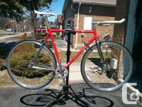 Up for sale is a Specialized Langster Steel Track Bike.