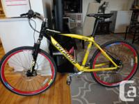 Selling an adult size 27 speed mountain bike in great