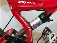 2007 Stumpjumper Expert. Full suspension mountain bike,