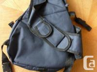 shoulder bag from New Zealand brewery, early 2000's one