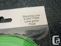 """Brand New Spey Shooting Line 0.032"""" 25lb core Ideal for"""