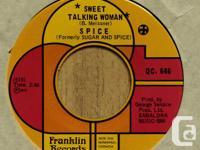 1971 Sweet Talking Woman / Strawberry Wine (Franklin