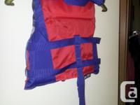 SPIDER-MAN Life Jacket for child /Enfant 14-27 Kg