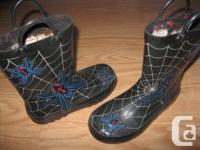 Spiderman Rubber Boots Size 12 Unfortunately no longer