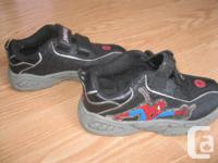 Spiderman Running Shoes Size 12 No longer fit! With