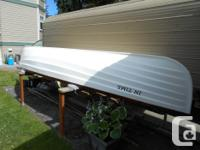 16ft in length, 2 rowing positions, in excellent shape,