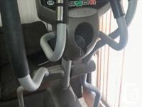 Selling out elliptical trainer as we don't have space