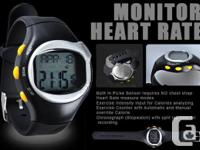 Sport Alarm Pulse Heart Rate Monitor Calorie Counter