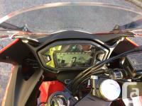 Make Honda Model Cbr Year 2014 kms 18800 Honda cbr 500r