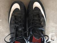 $5 for each pair 1 Baseball Cleats - Umbro, Size 6 1