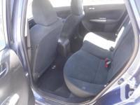 Make Subaru Model Impreza Year 2011 Colour BLUE kms