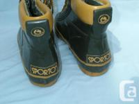 Never worn Ankle Boots - SPORTO / Rubber Boots size 9,
