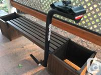 Two Bike non folding hitch mounted bicycle rack. -Fits