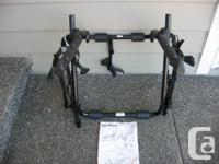FEATURES * SportRack Back Up 3 Trunk-Mount Bike Carrier