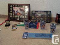 Offering my sporting activities memorabilia and also