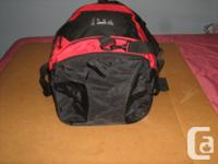LARGE AND STURDY SPORTS OR GYM BAG. HAS HANDS AND