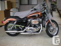 Make Harley Davidson Model Sportster Year 2008 kms 300