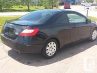 Make Honda Model Civic Coupe Colour Black Trans Manual