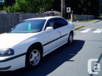Make Chevrolet Model Impala Year 2001 Colour Summit