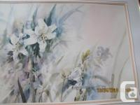 THIS IS A LARGE PRINT BY BRENT HEIGHTON TITLED '[SPRING