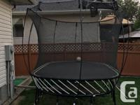 Springfree Trampoline, Large Oval shape, 8ft x 13ft.