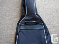 Squire mini Fender electric guitar, it is black and