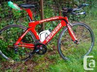Full Sram Red 2011 Transition Pro. Size 56. med.  Sram