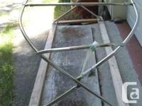 Stainless Steel Dodger Frame for 30 to 40 ft sailboat.