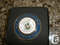 I am selling my St. Andrews old course ball marker. I
